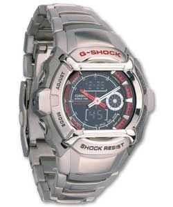 Casio Baby G Shock Combi Illuminator Bracelet Watch World Time Countdown Timer 5 Alarms