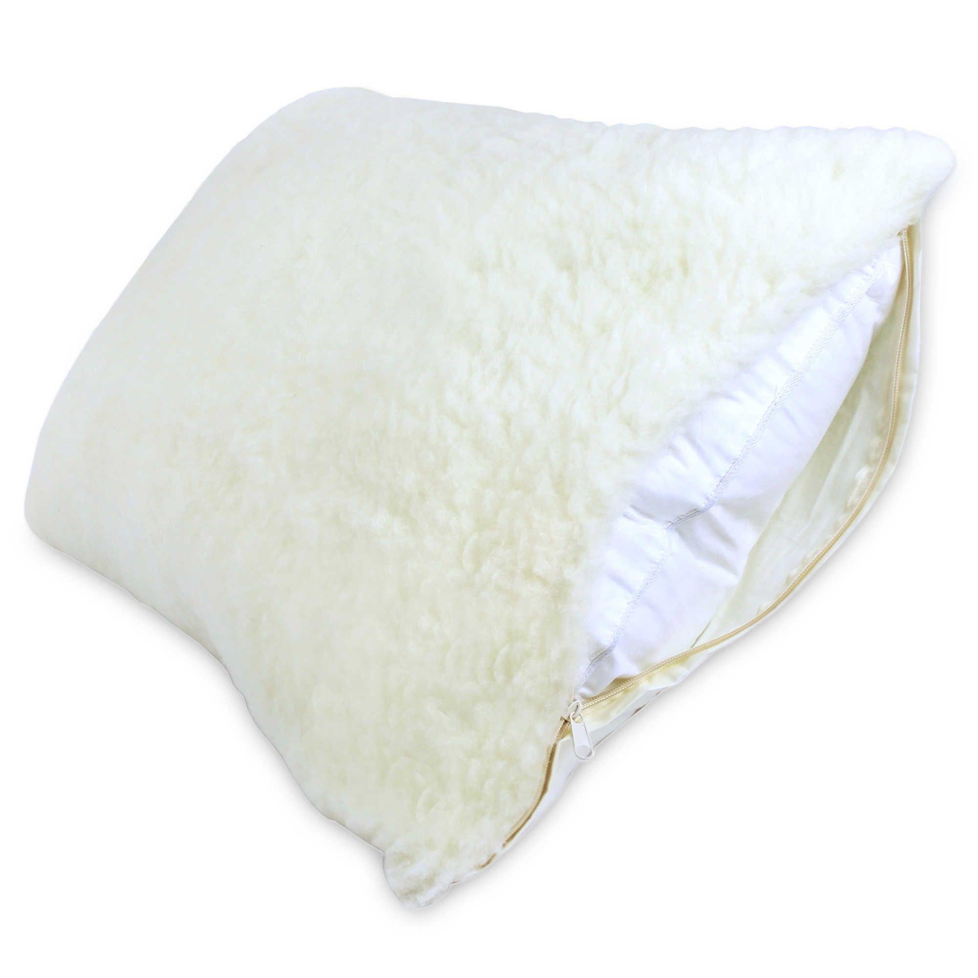 signature collectiona australian wool fleece pillow protector home