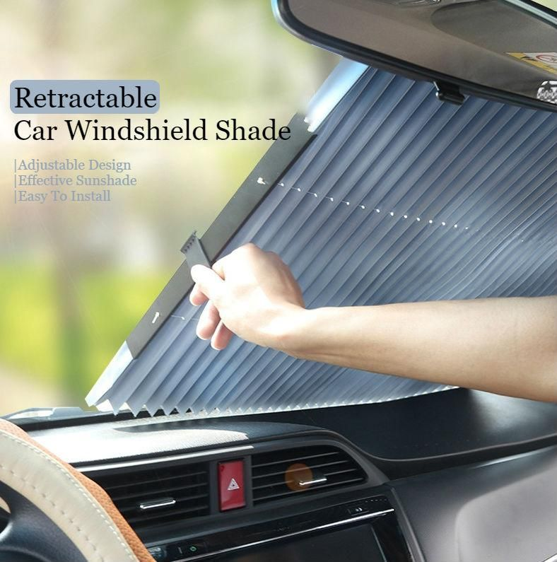 Photo of Retractable Car Windshield Shade: Fits Almost Every Car