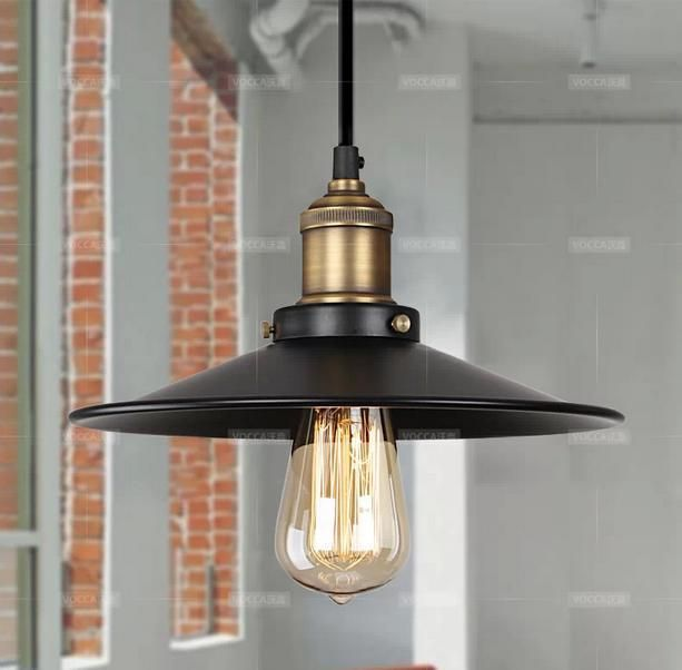 Beautiful Vintage American country style small black pendant lights lamps lighting by designer free shipping Plan - Amazing small lantern pendant light Modern