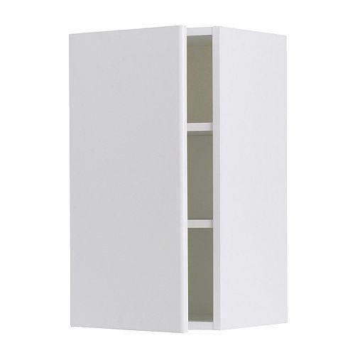 Akurum Wall Cabinet Birch Effect Härlig White 12x30 Ikea Might Be A Good Subsute For The Effektiv In Fridge Hack