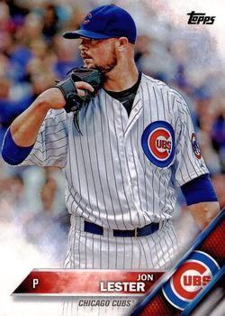 2016 Topps 151 Jon Lester Front 2016 Baseball Cards