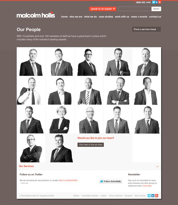 Malcolm Hollis by redcow , via Behance
