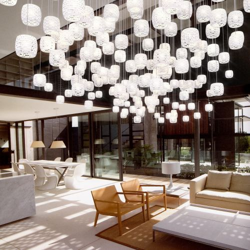 yellow goat lighting. Flying Crystal Cups, By Yellow Goat Lighting