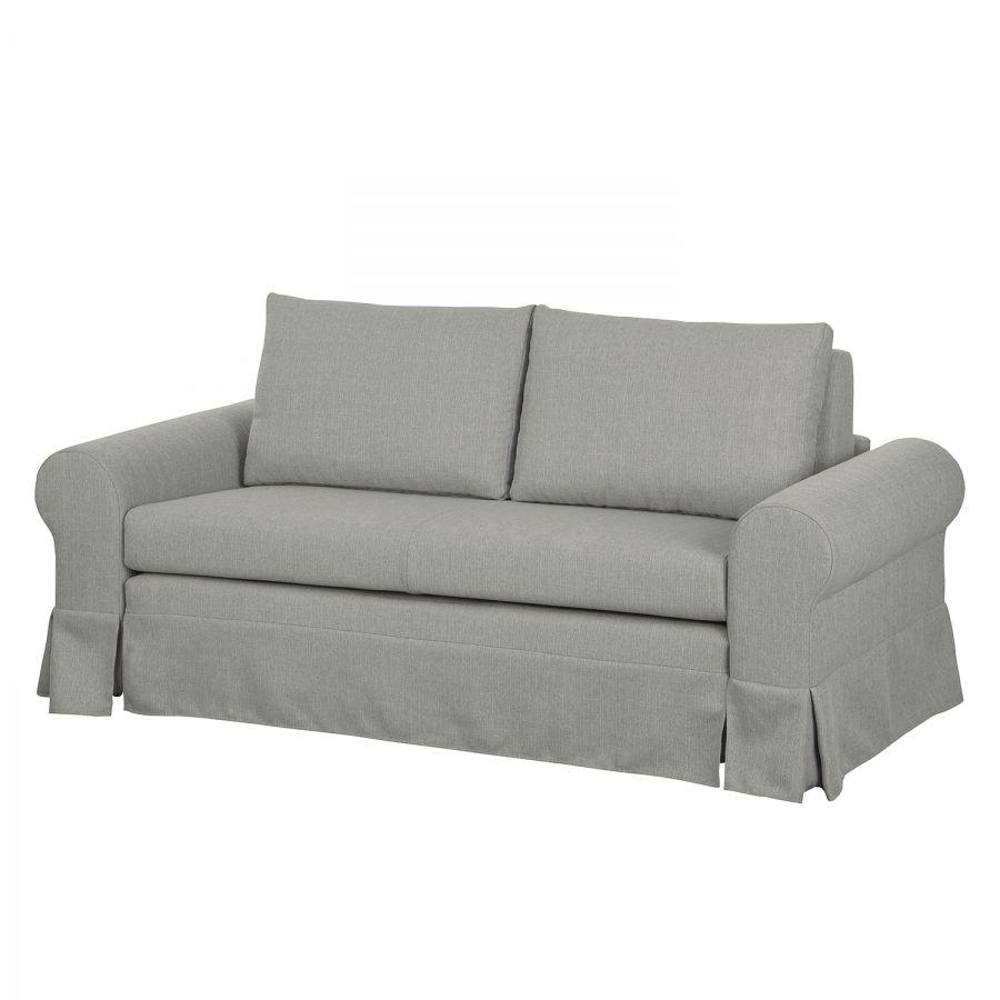 schlafsofa latina xiii webstoff grau 185 cm. Black Bedroom Furniture Sets. Home Design Ideas
