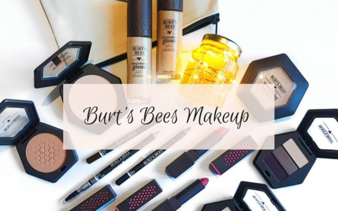 Burt's Bees Makeup Line Review Burts bees makeup, Bee