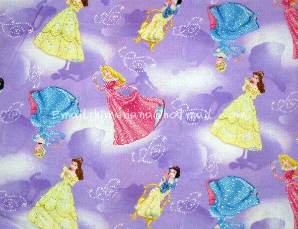 gz021  1 Yard Cotton Fabric  Disney Cartoon Characters by dotcn, $9.00