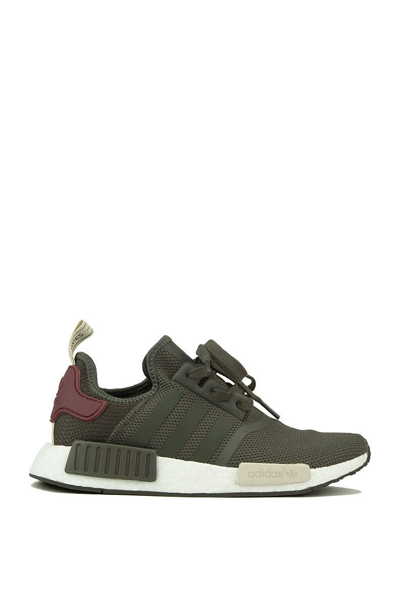 adidas sneaker in grau, grau - brauner nmd r1 schuhe pinterest nmd