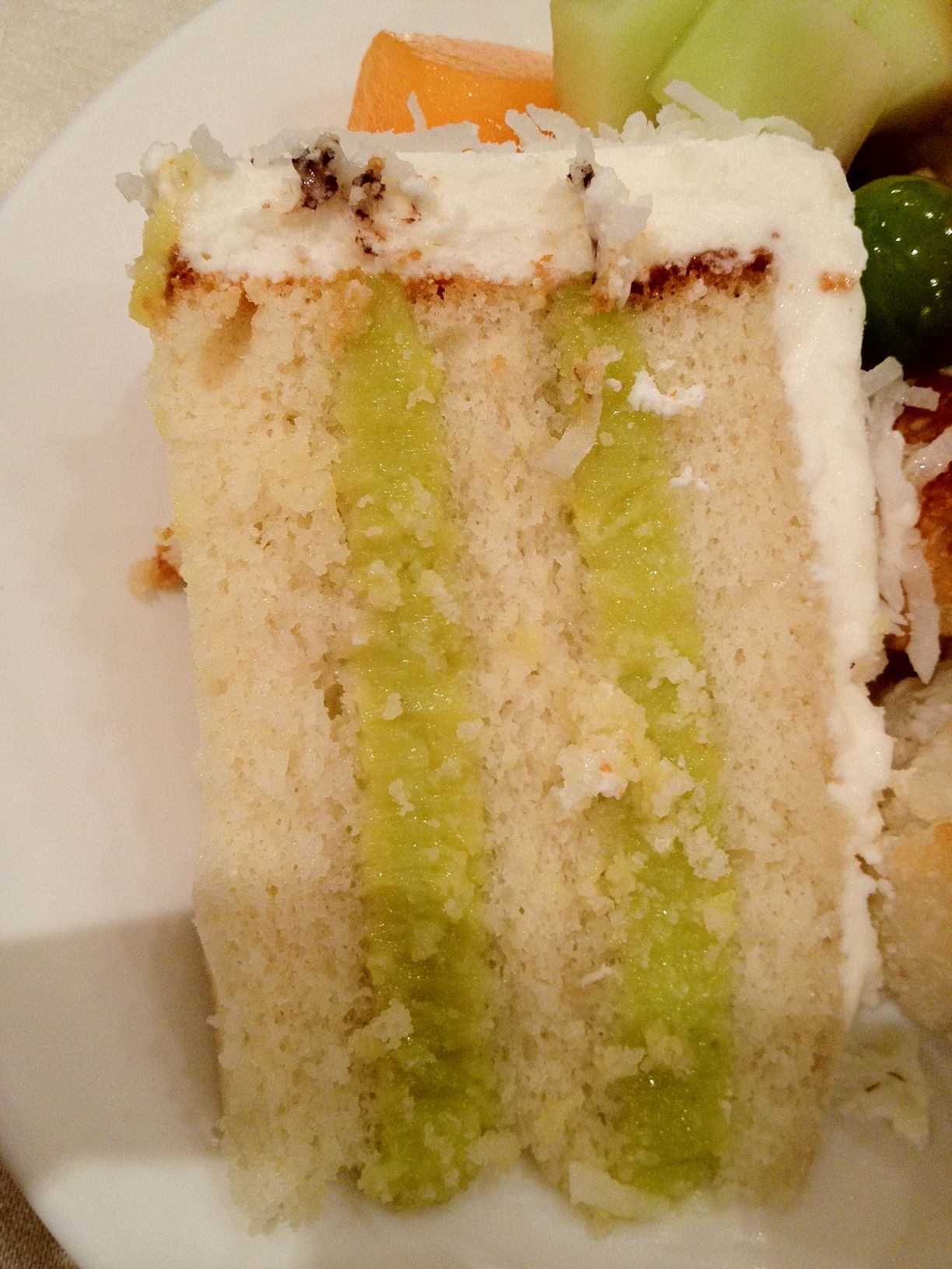 Flourless Lime And Coconut Cake