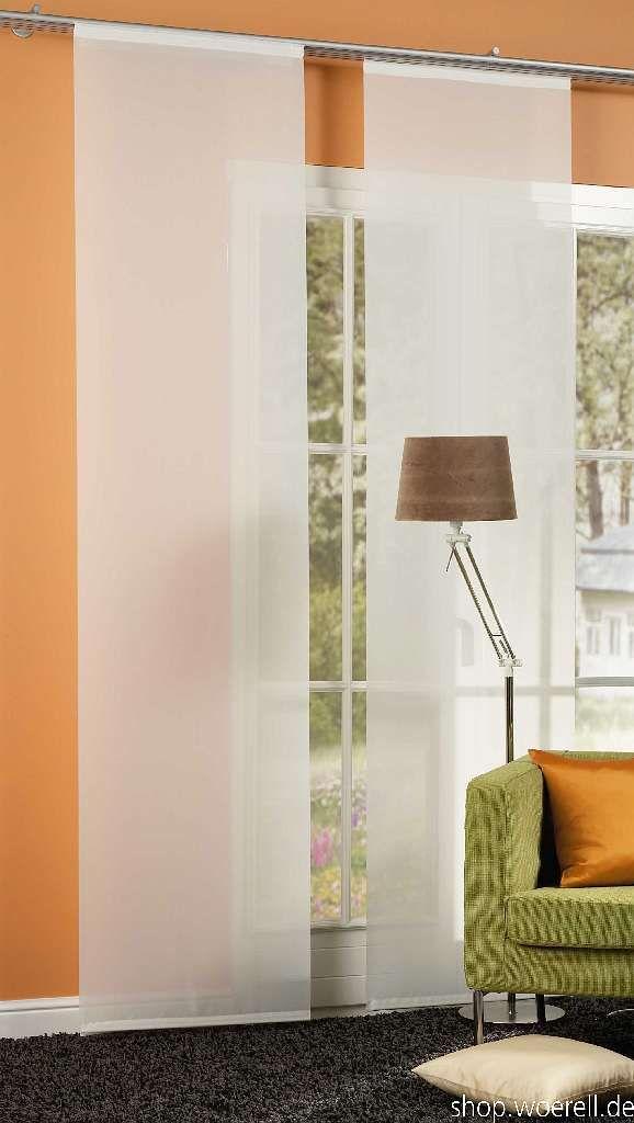 fl chenvorhang saros 894601 halbtransparenter fl chenvorhang raumteiler mit alupaneelwagen. Black Bedroom Furniture Sets. Home Design Ideas