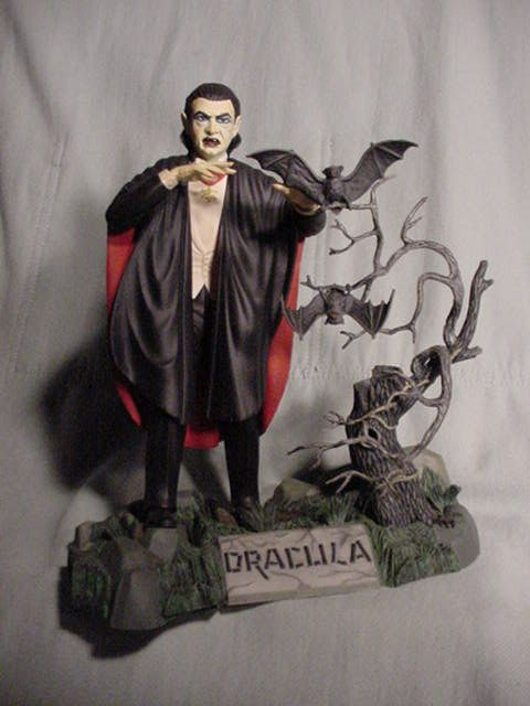 Horror Models  Had this one, Frankenstein and Wolfman  | In a Galaxy