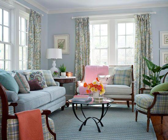 Unique Color Combinations Living Rooms