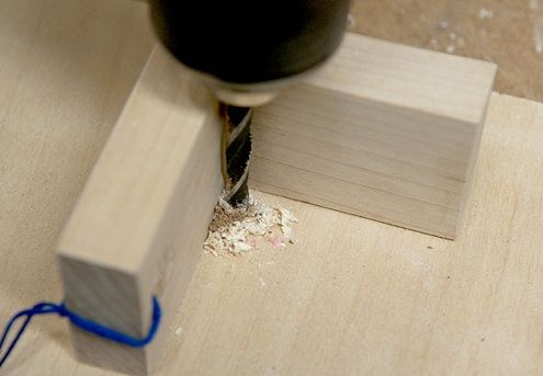 How To Drill Straight 90 Holes Without A Drill Press Drill Guide Drill Drill Jig