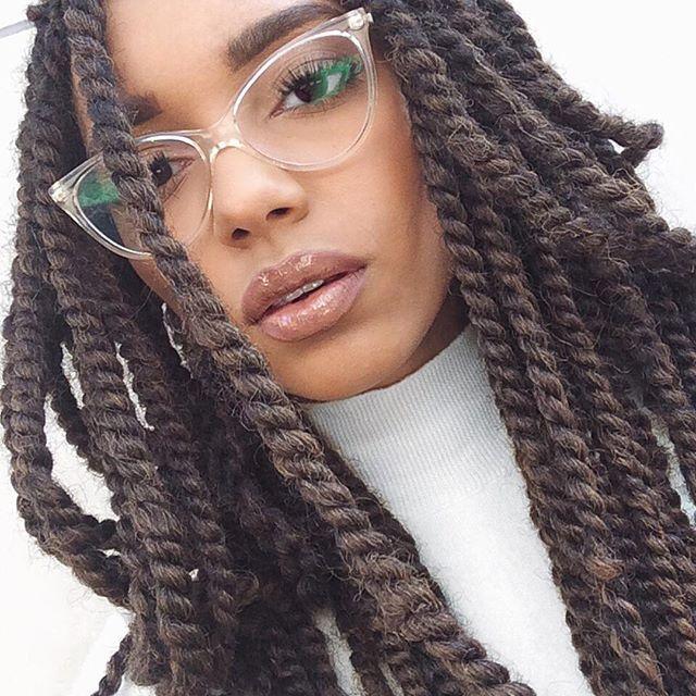 Gloss | Marley hair, Twist braids, Natural hair styles