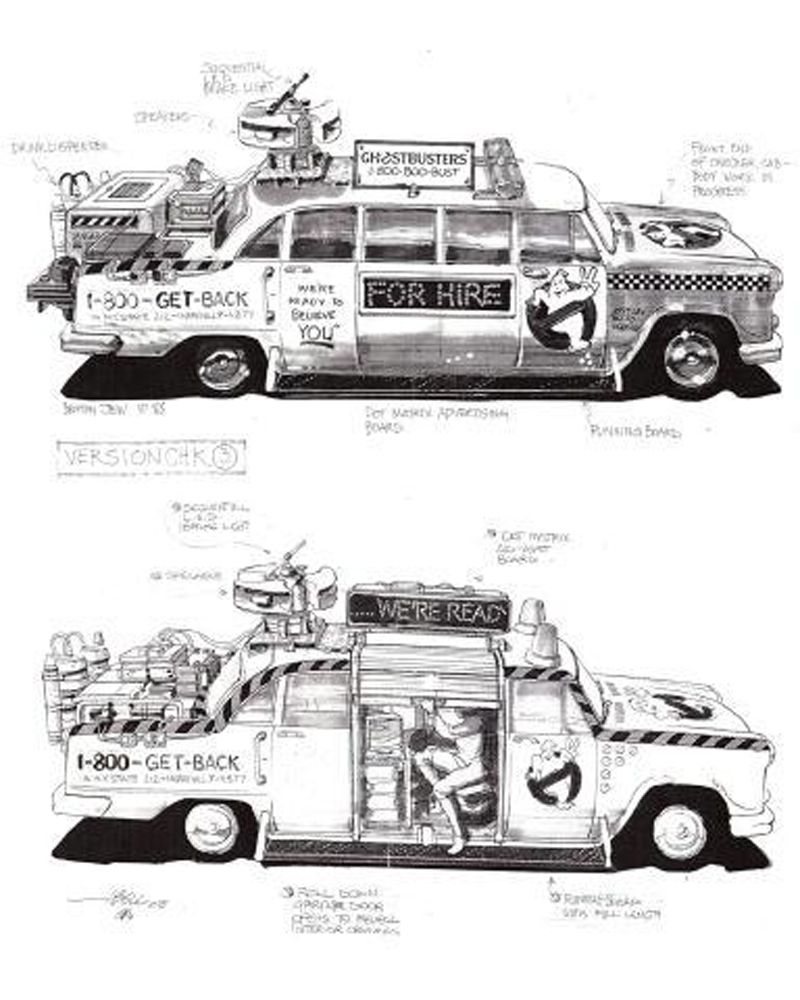 The Franchise Rights Alone Ghostbusters Concept Art