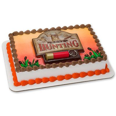 Buy Gone Hunting Cake Topper Kit At Walmart
