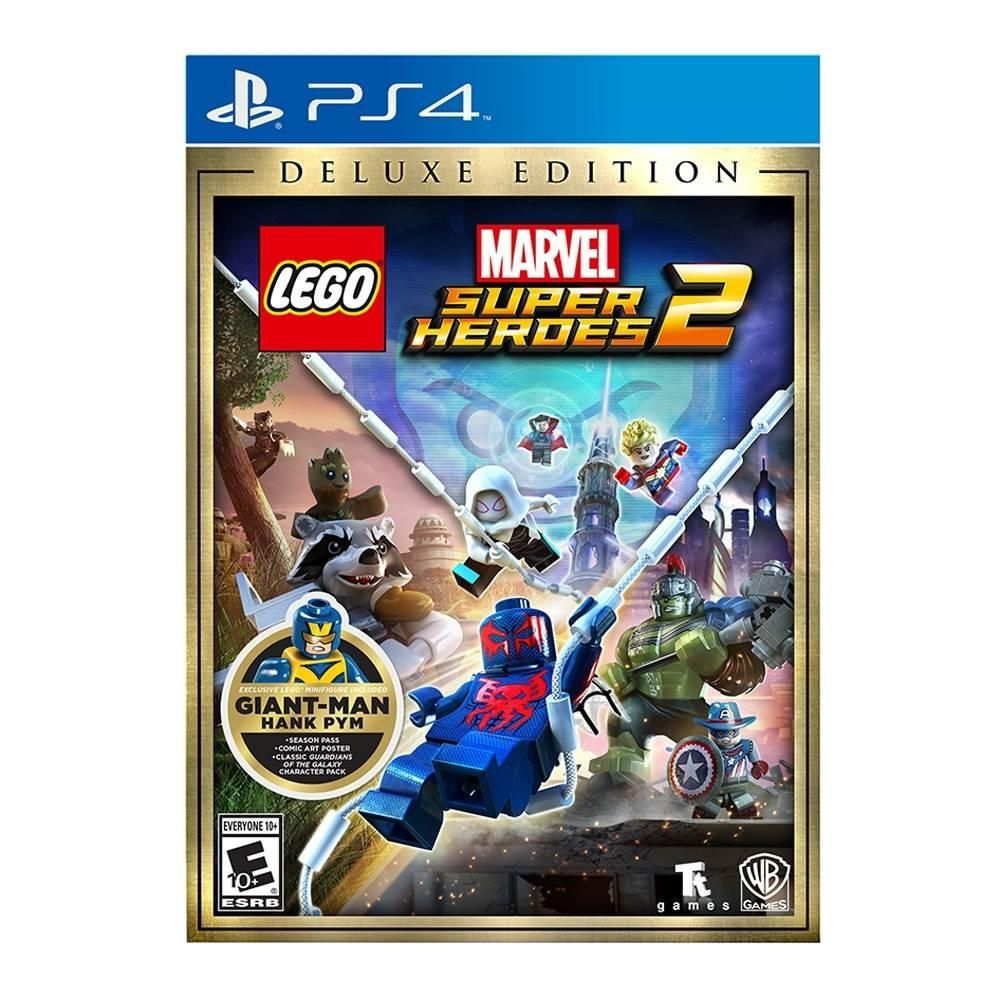 Lego Marvel Super Heroes 2 Deluxe Edition Ps4 Lego Marvel Super