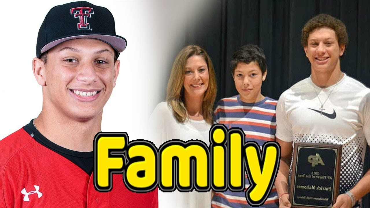 Patrick Mahomes Family Photos With Father Mother And Girlfriend