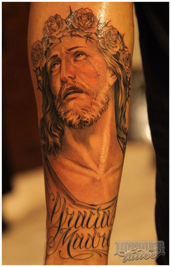 b341c7785c122 Jesus tattoo design   Ridiculous Pictures of Jesus   Jesus tattoo ...
