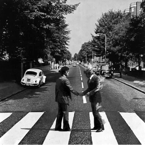 The wall & Abbey Road = Two amazing albums. #pinkfloyd #beatles