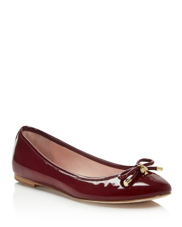 e80bd6fb3c kate spade new york Willa Patent Leather Ballet Flats | Products ...