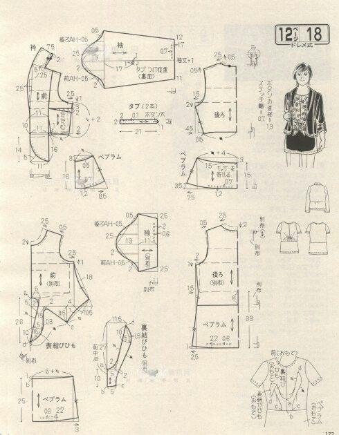 Pin de marisol lopez en patrones faciles | Pinterest | Costura ...