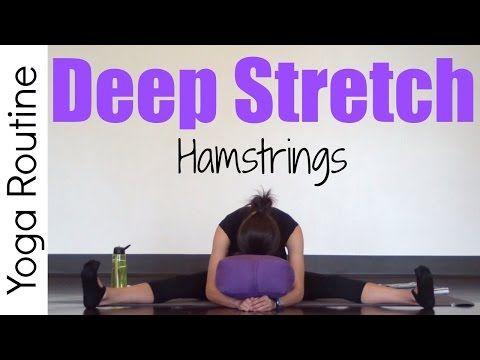 20 minute deep stretch yoga for hamstrings  hamstrings