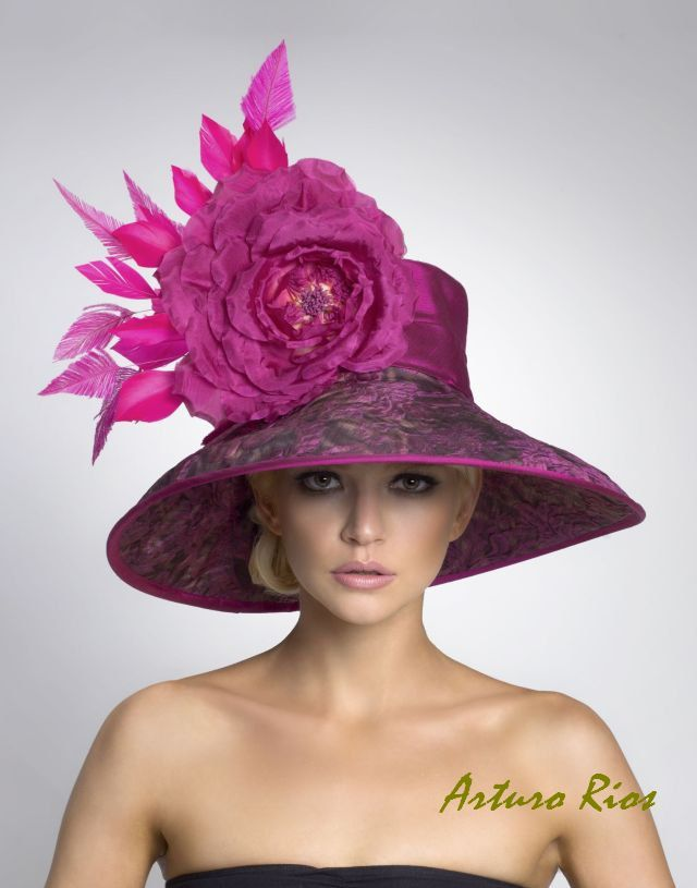 Items similar to Couture Derby Hat--Lampshade hat on Etsy
