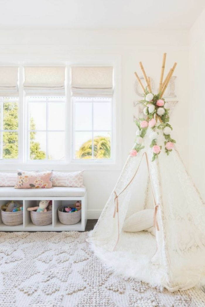 1001 ideen f r babyzimmer m dchen baby zimmer nursery and bedrooms. Black Bedroom Furniture Sets. Home Design Ideas