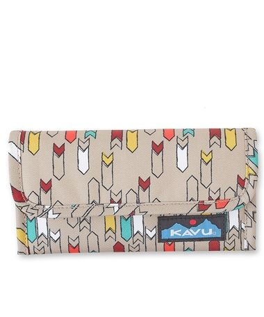 The Mondo Spender in Trail Marker hold a check book and all of your cards!!  #kavu