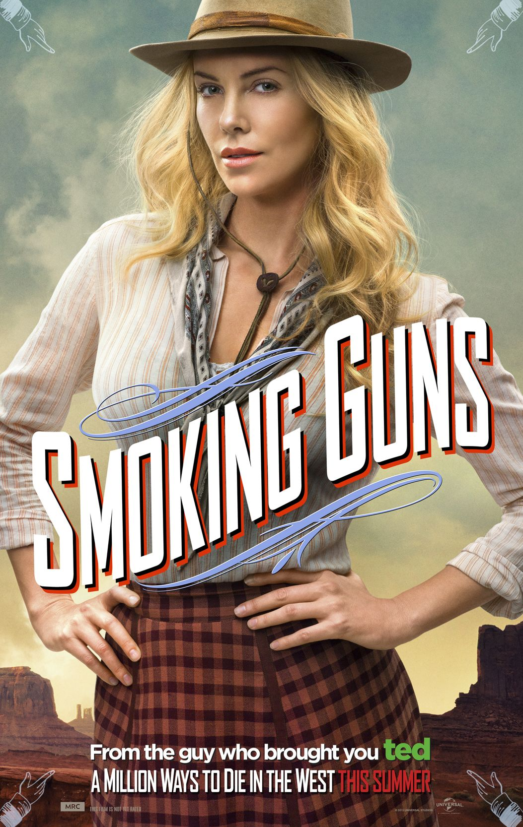 Pin By Universal Pictures On A Million Ways Charlize Theron Seth Macfarlane Movie Posters