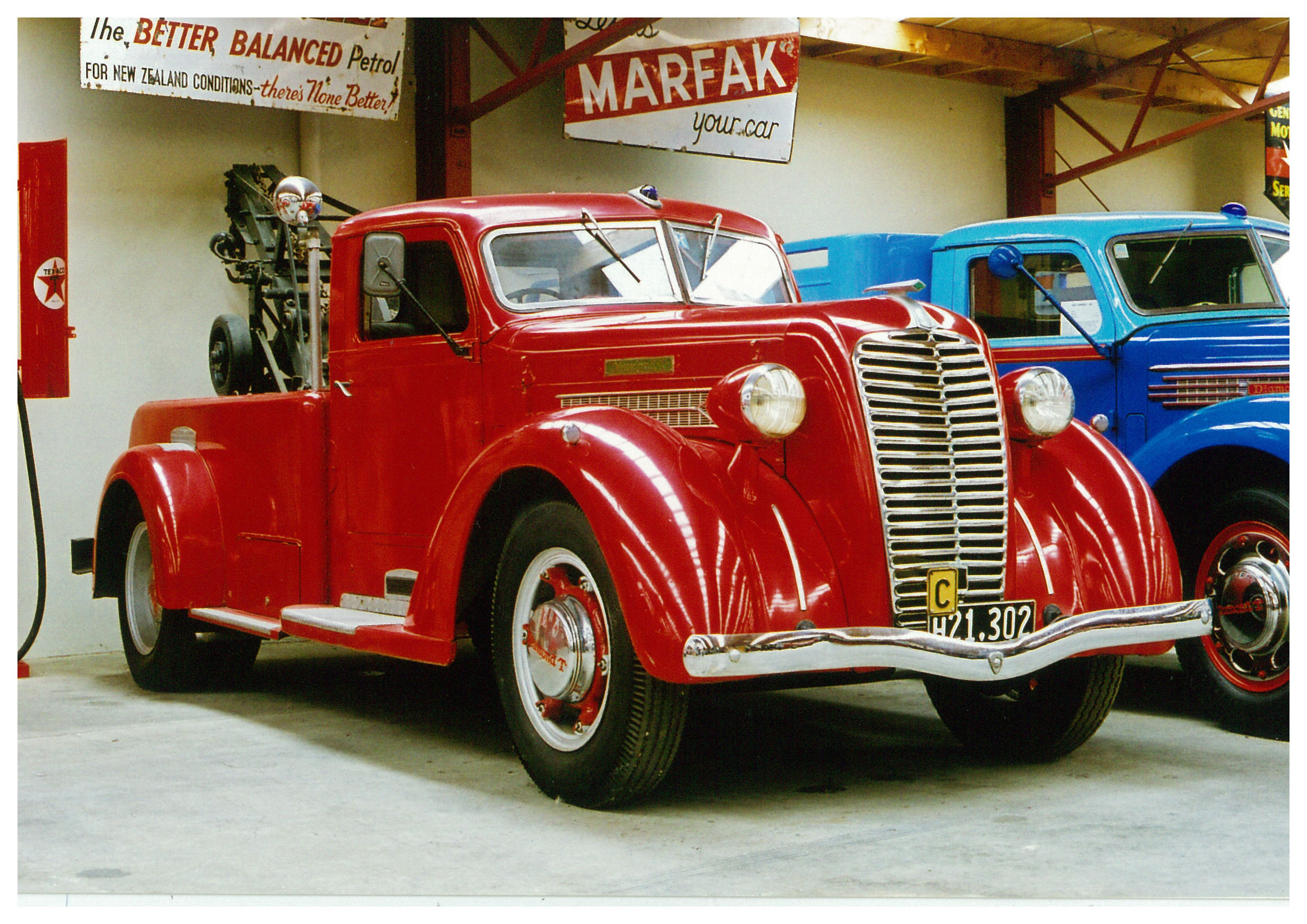1937 diamond t 221d proudly displayed at bill richardson