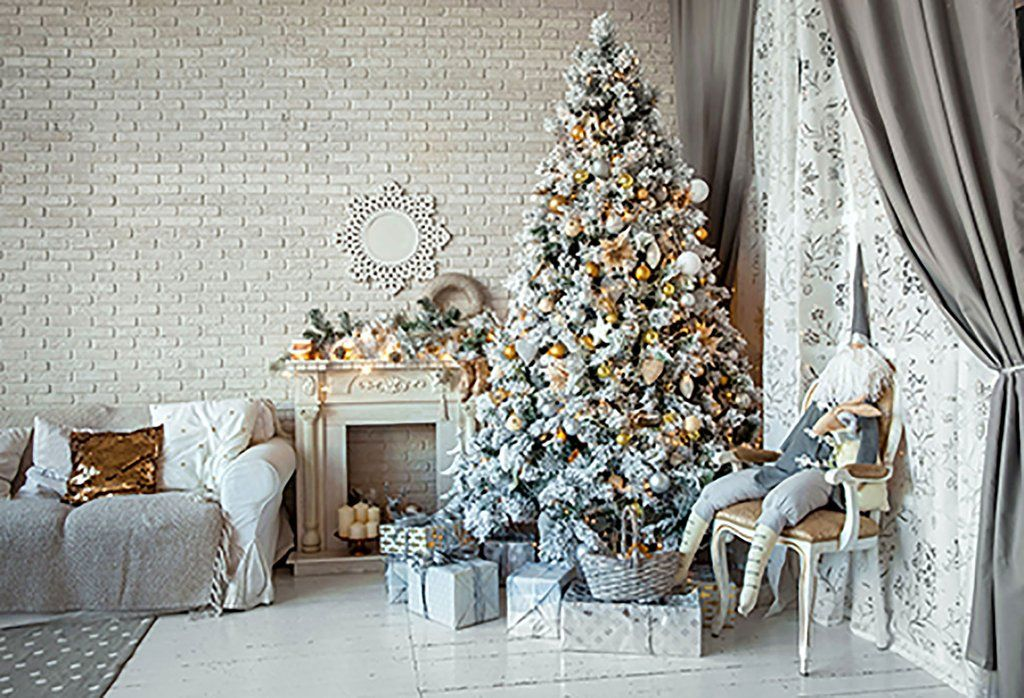We Provide A Kind Of The Most Widely Used Photography Backdrop Fabric Por Christmas Decorations Living Room Christmas Backdrops Christmas Photography Backdrops Christmas tree living room background