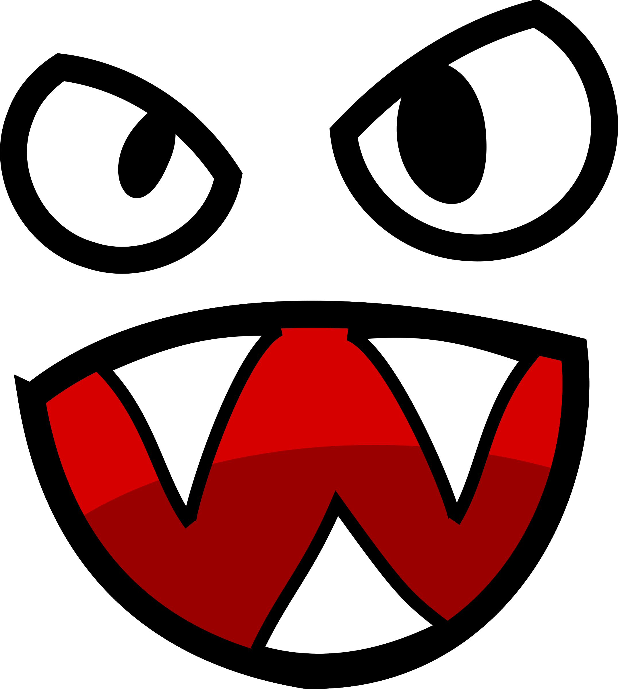 Monster Monster Coloring Pages Clip Art Monster Eyes