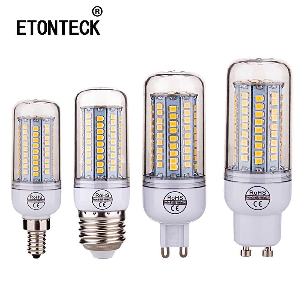 10pcs E27 E14 Led Lamp 2835smd Led Bulb 220v 230v 240v Corn Light 102led Lamps Bombillas Lampada Ampoule Lighting Yesterday S Price Led Bulb Led Lamp E14 Led