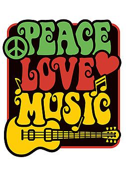 391831619ff9 Rasta Peace, Love, Music   Photographic Print   POLY   Rasta colors ...