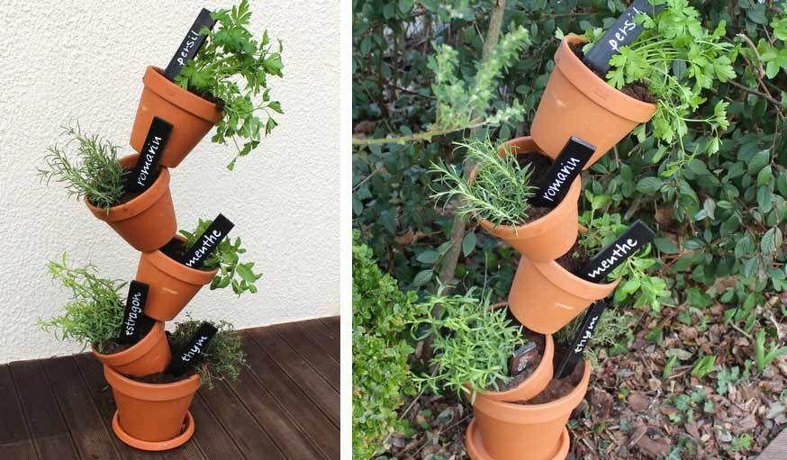 Stéphanie Granval du blog Stéphaniebricole plantes balcon