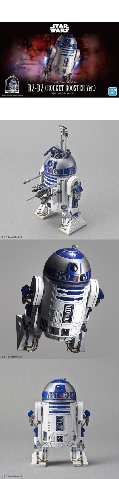 Models and Kits 1188: Bandai Star Wars R2-D2 (R2d2) Rocket Booster