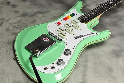 used teisco spectrum 5 surf green solid electric guitar from japan terrific tiescos in 2019. Black Bedroom Furniture Sets. Home Design Ideas