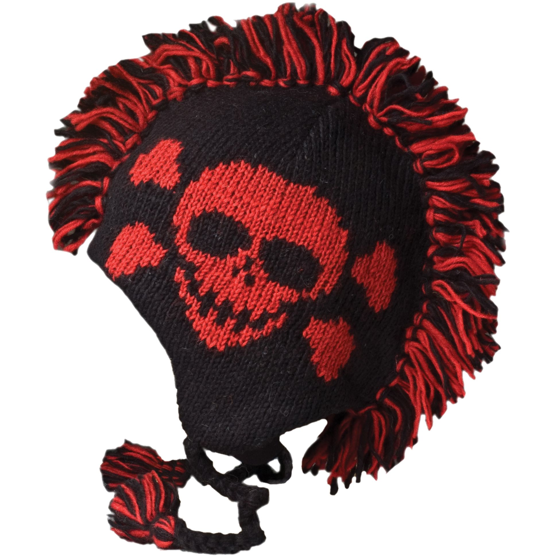 Skull winter hat google search 2015 winter hats pinterest knit mohawk hat with a skull tattoo bankloansurffo Gallery