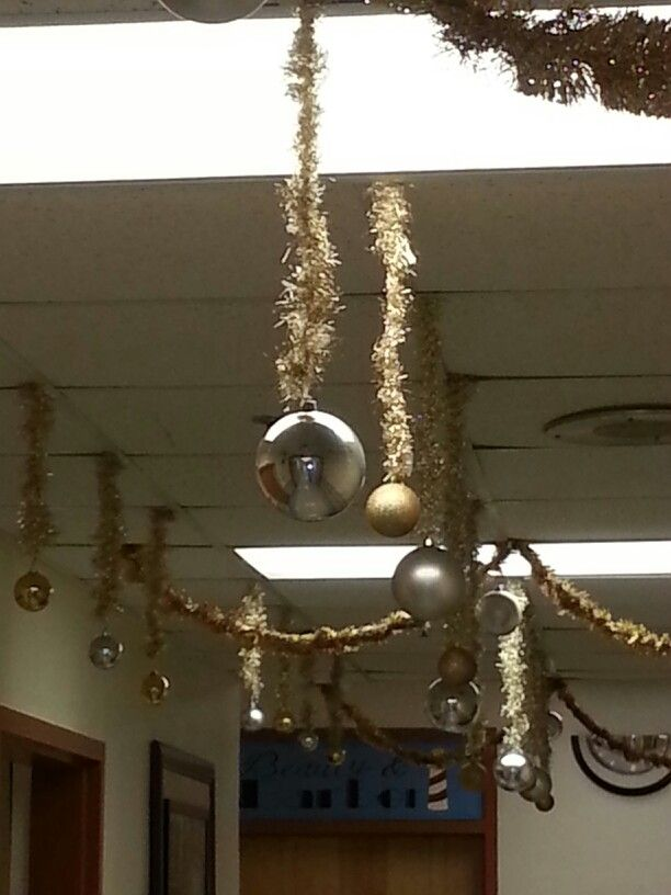 Garland And Ornaments