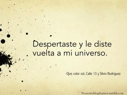 Resultado De Imagen Para Calle 13 Frases Letras De Canciones De Amor Frases Sobre La Vida Frases Cursis