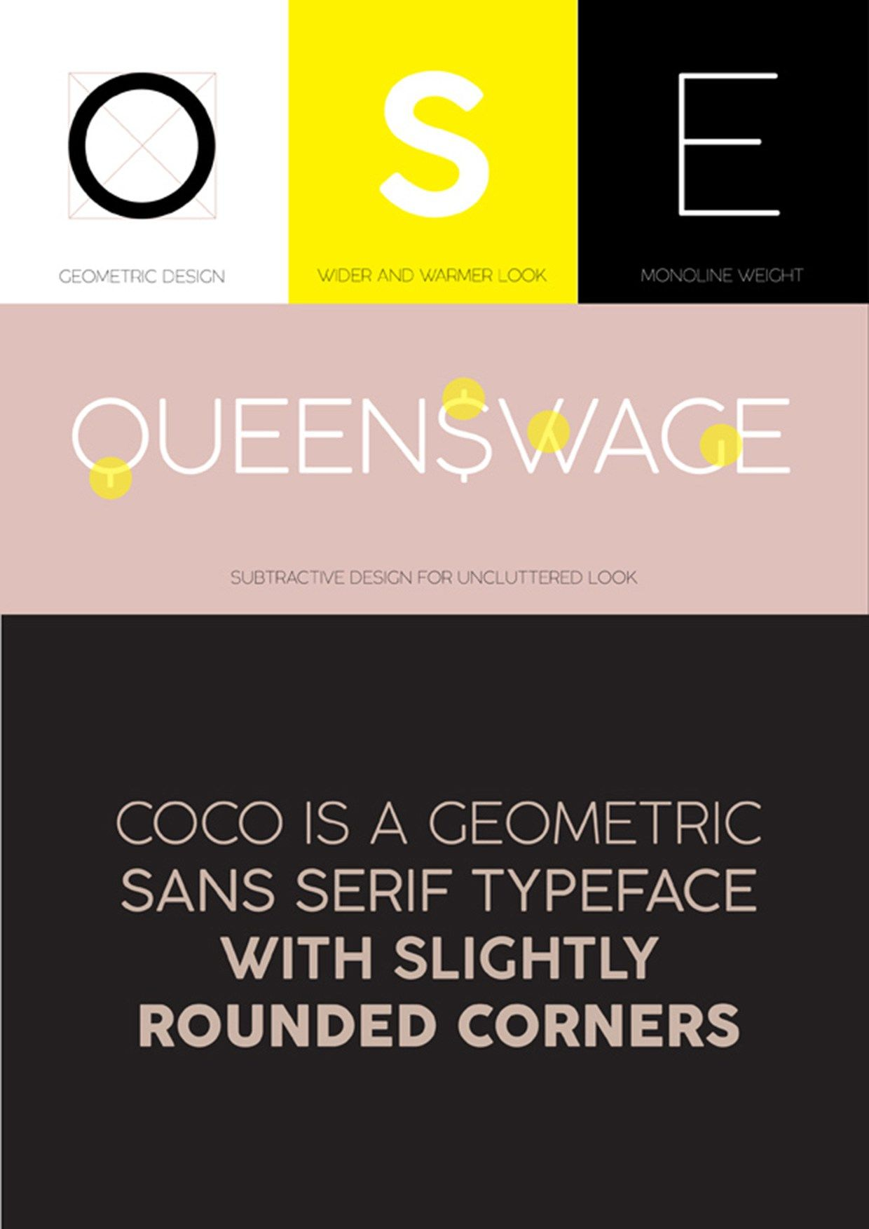 Coco Gothic Free Font 058 Fonts