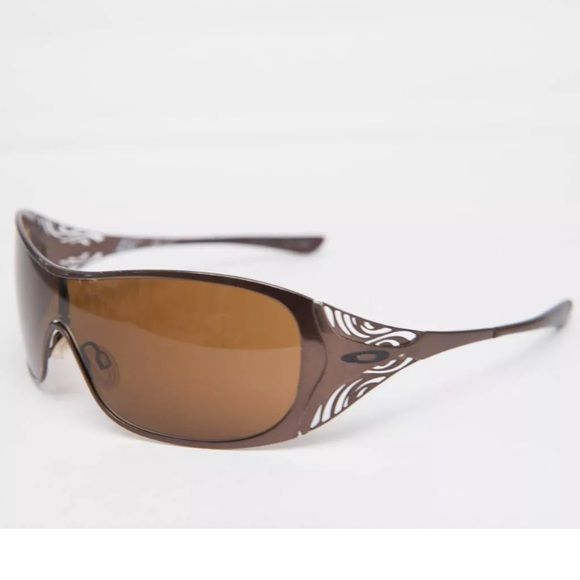 df5d781ae8 Oakley Liv Sunglasses Brand new never worn. Polished chocolate dark bronze  with hint of rose. Very unique color. 100% UVA   UVB.