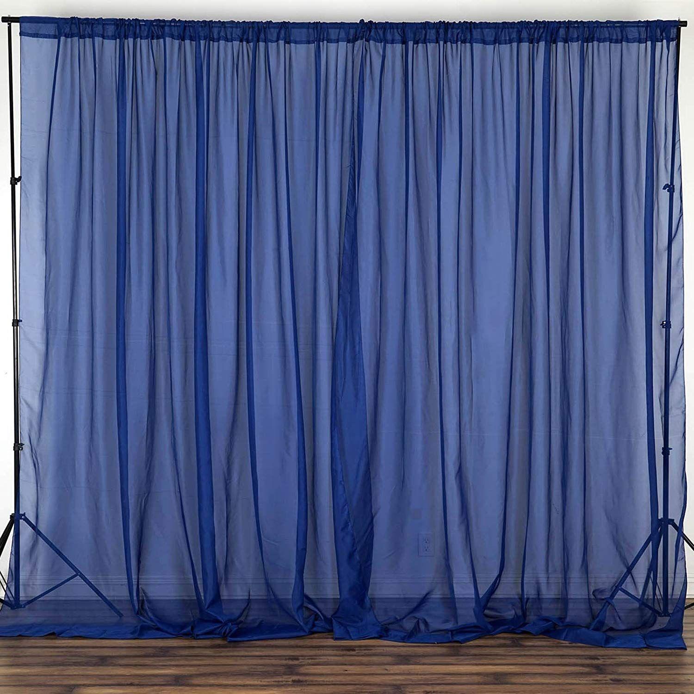 Amazon Com Balsacircle 10 Feet X 10 Feet Silver Sheer Voile Backdrop Drapes Curtains Wedding Ceremony Party Home Panel Curtains Drape Panel Drapes Curtains