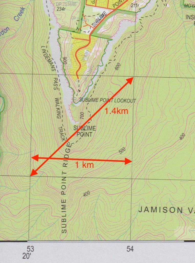 How to Navigate with a Map & pass Heyson Thru Hike