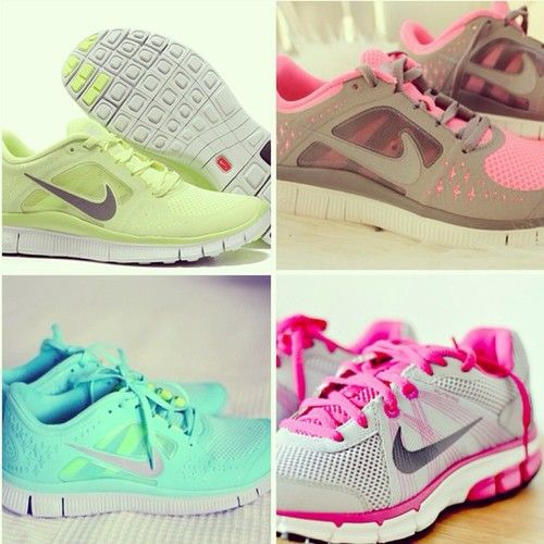 Nike running shoes :) #womens nikes