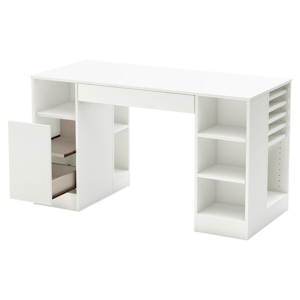 White Craft Desks