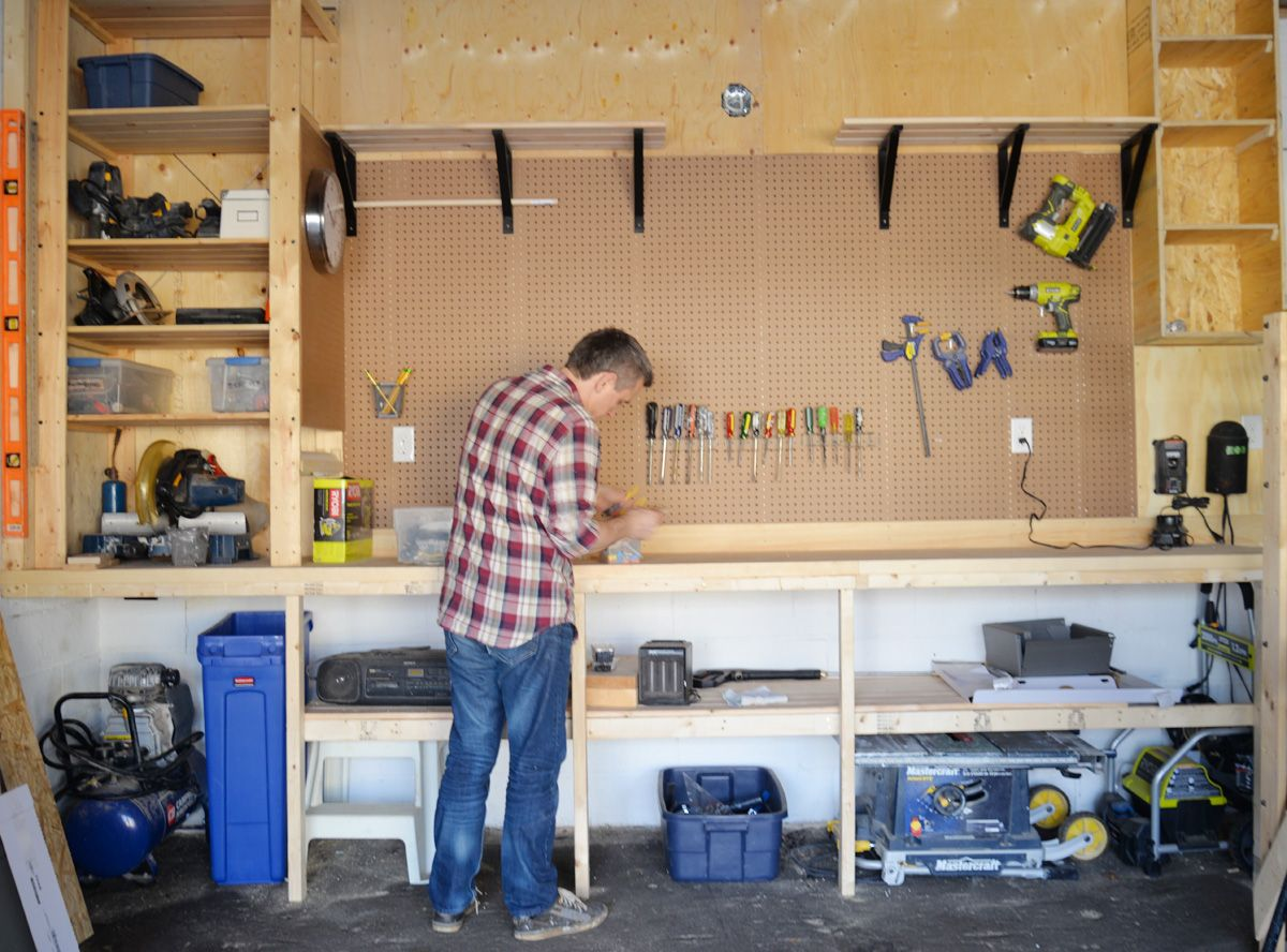 Diy garage organization ii garage pinterest garage storage