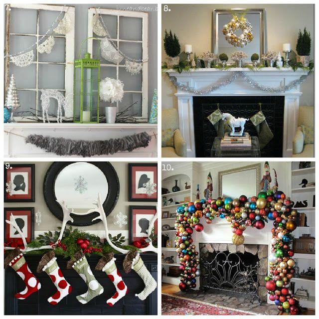 Christmas, crafts, DIY, desserts, 100, mantels